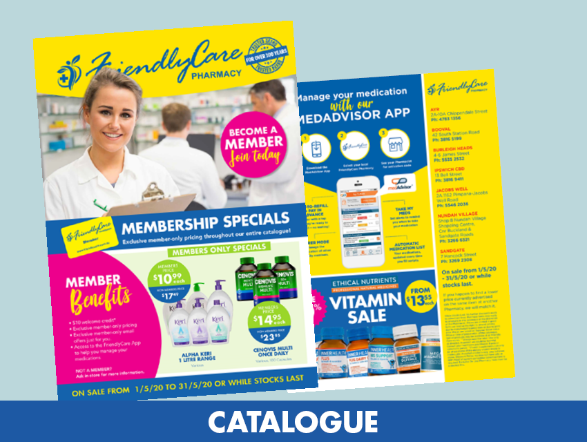 FriendlyCare August Catalogue