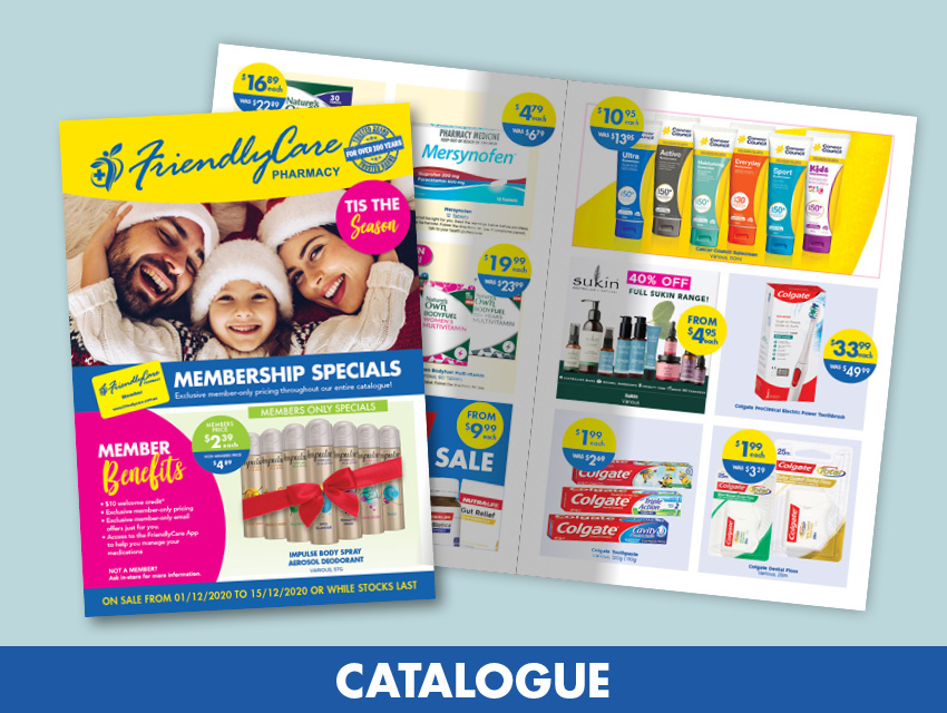 FriendlyCare December Catalogue