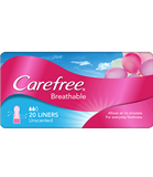 Carefree Liner Breathable 20 Pack