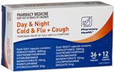 Pharmacy Health Cold  Flu  Cough Day  Night 48 Tablets