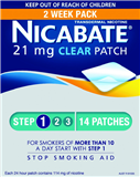 Nicabate Clear Patch 21mg 2 Weeks