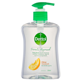 Dettol Parents Approved Citrus Hand Wash Antibacterial 250ml