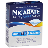 Nicabate 14mg Clear 7 Patches Step 2